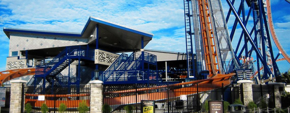Cedar Point Valravn Coaster Station