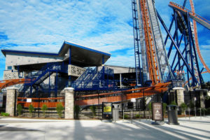 Cedar Point Valravn Coaster Station