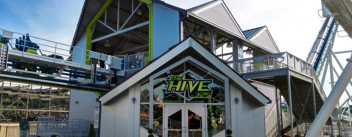 Carowinds Fury 325 Coaster Station