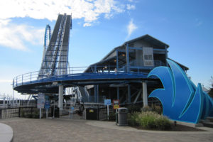 Cedar Point Gatekeeper Coaster Station